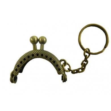 Boquilla monedero oro viejo 4cm