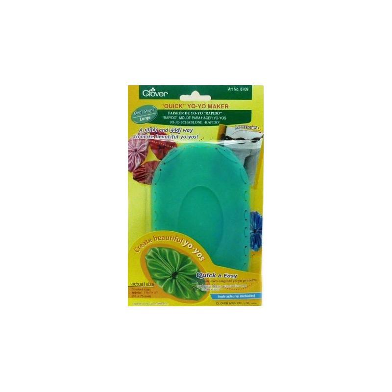 Molde para crear yo-yos ovalado (7,5cm x 4,5cm)