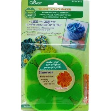 Molde para hacer yo - yos 3D 30mm (Clover)