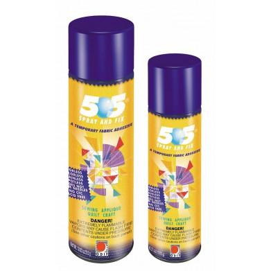 Adhesivo temporal en spray para tejidos y papeles 505