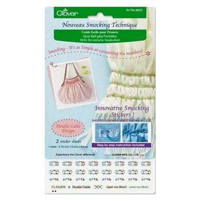 Guía fácil para fruncidos (punto de cordón)