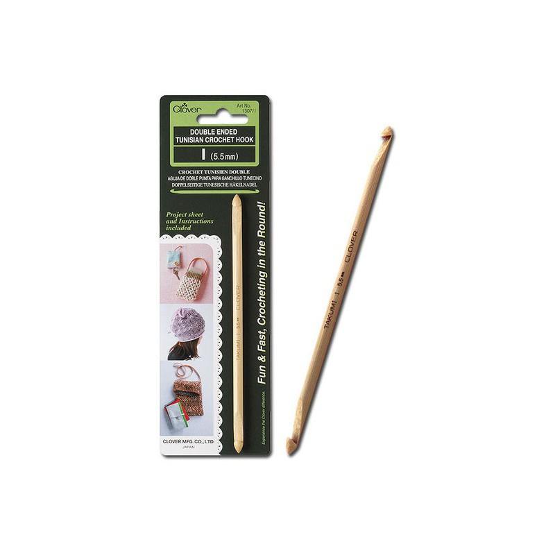 Ganchillo tunecino bambú Clover