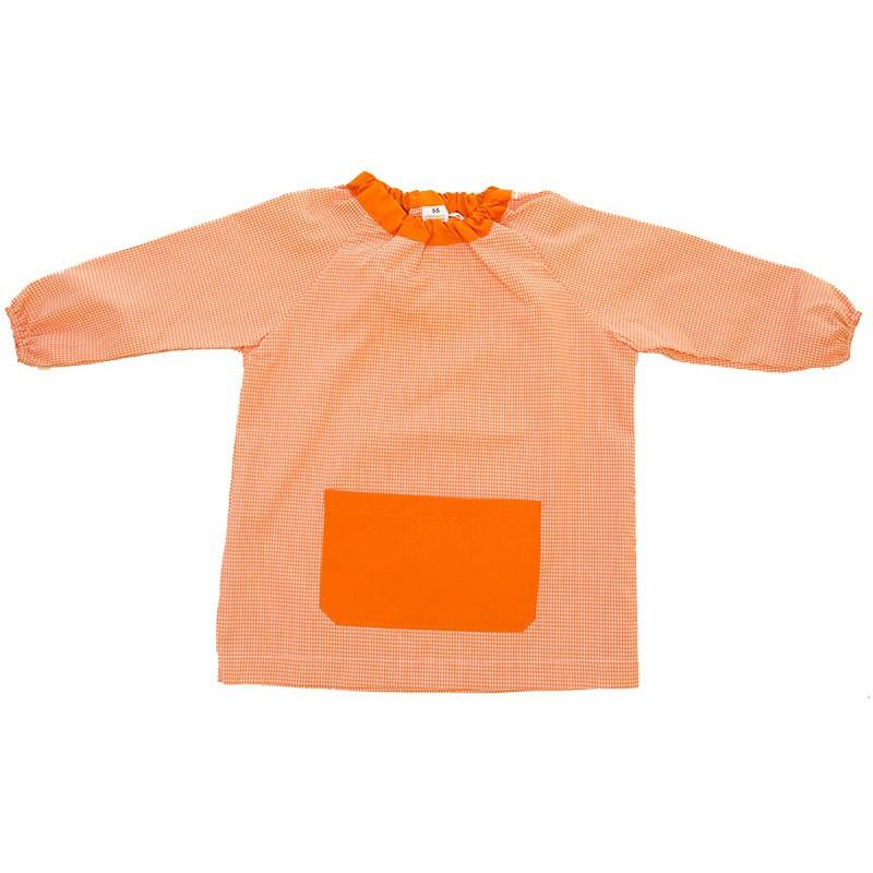 Mandilón cuello Goma naranja
