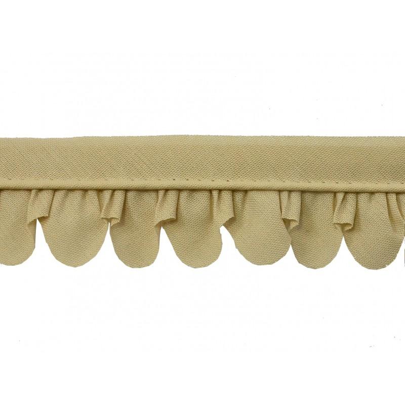 Vivo de pétalos beige (3,5cm)