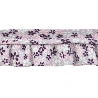 Vivo con fruncido flores lila(2,5 cm)