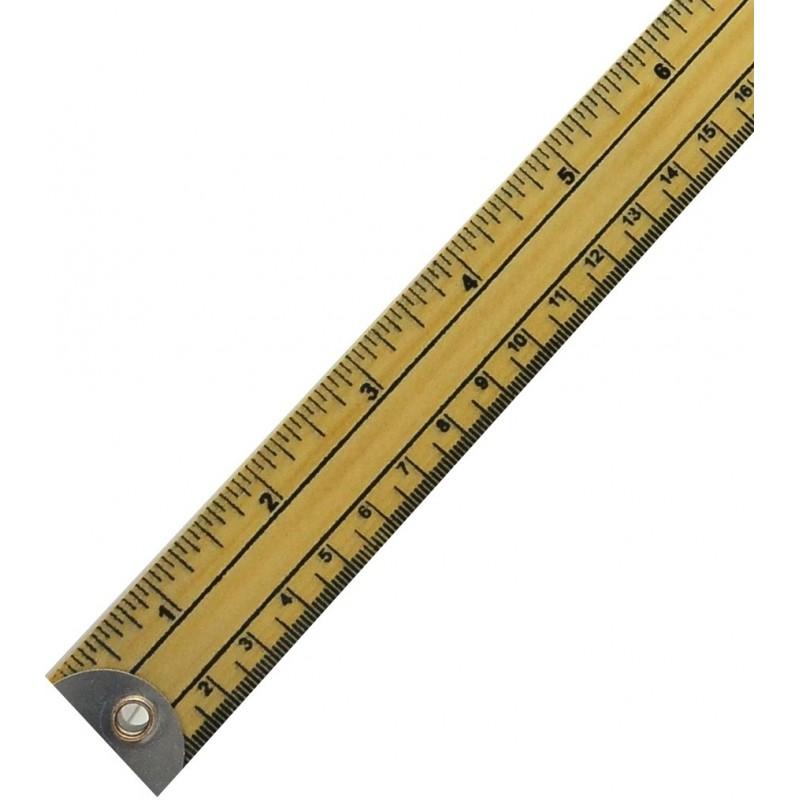 Regla de madera 1metro