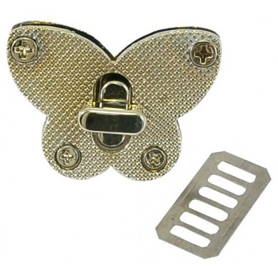 Cierre 3cm niquel mariposa