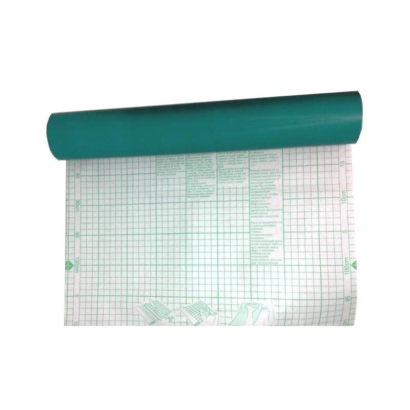 Adhesivo translúcido mate Verde
