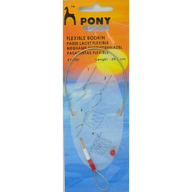 Pasacintas flexible Pony