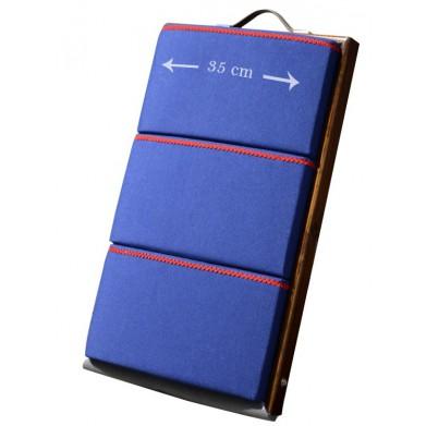 Almohada de bolillos 60x35cm azul