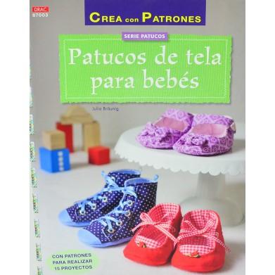Patuco de tela para bebés