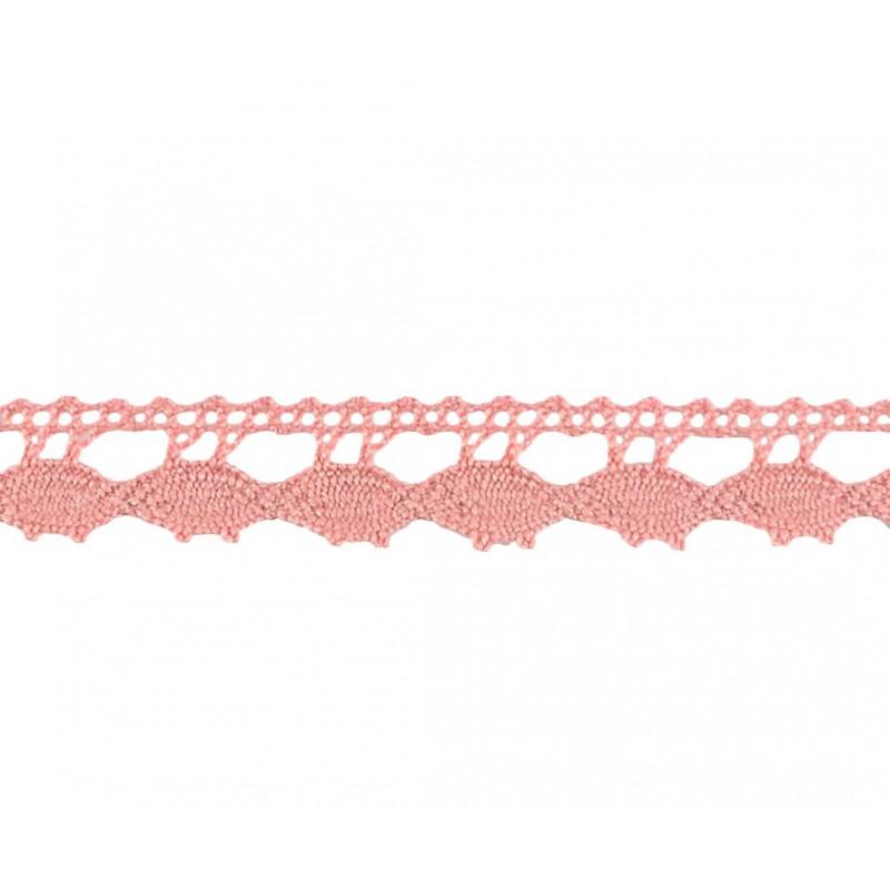 Puntilla hilo rosa 1 cm