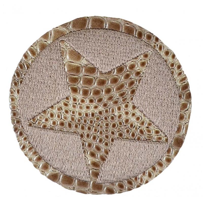 Aplique estrella 7 cm