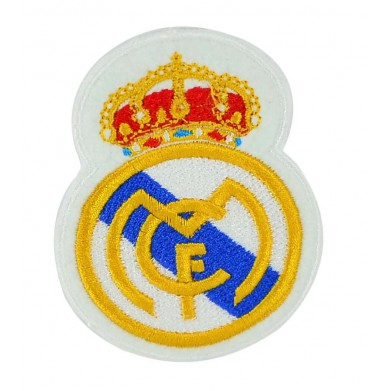 Aplique escudo Real Madrid 6 cm x 5 cm