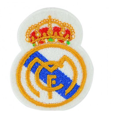Aplique escudo Real Madrid 8 cm x 6 cm