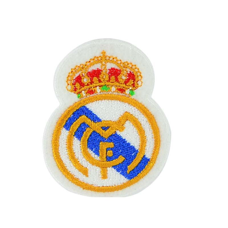 Aplique escudo Real Madrid 8 cm x 6 cm