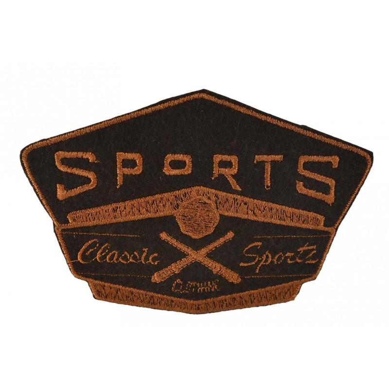 Aplique baseball 11 cm x 15 cm
