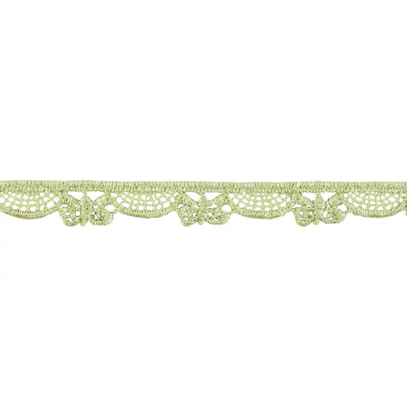 Guipur verde 1 cm