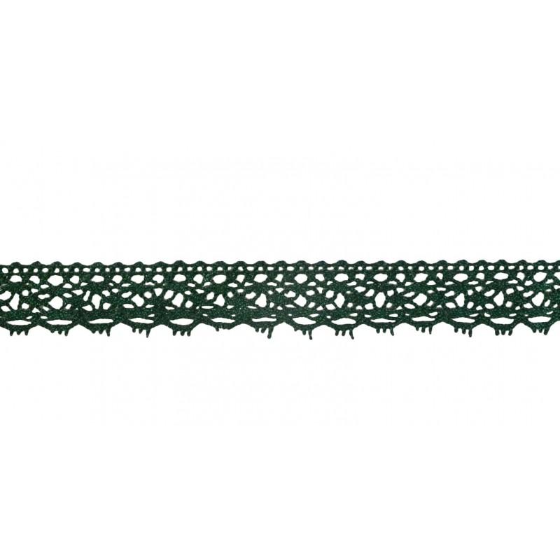 Puntilla hilo verde 1,5 cm