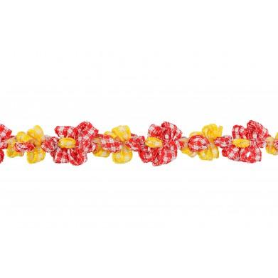 Tapacosturas flores 1cm