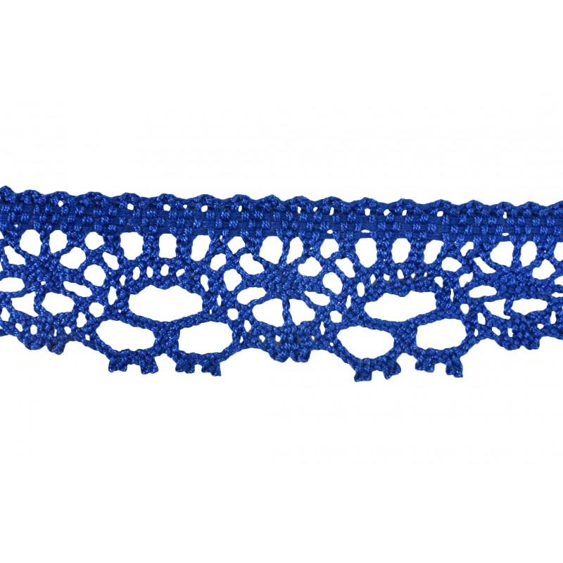 Puntilla hilo azul 3 cm