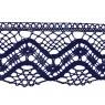 Puntilla hilo azul 6 cm