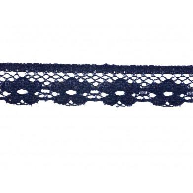 Puntilla nylon azul 1,5 cm