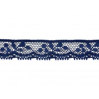 Puntilla nylon azul 1 cm