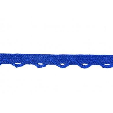 Puntilla hilo azul 1 cm