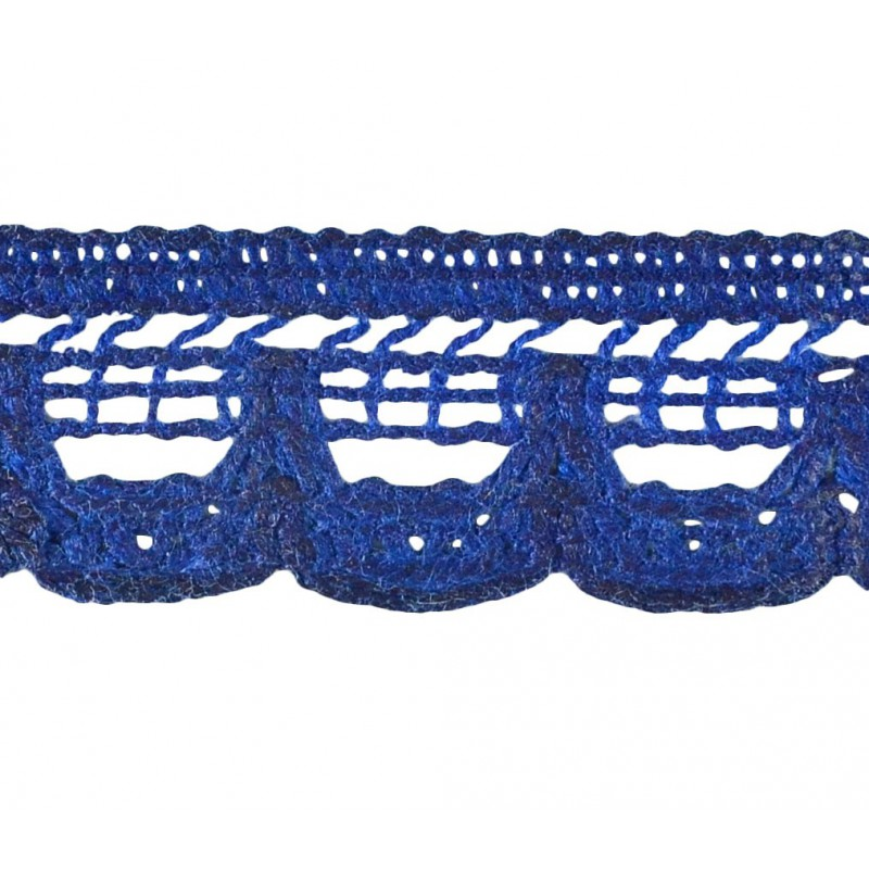 Puntilla hilo azul 1,5 cm