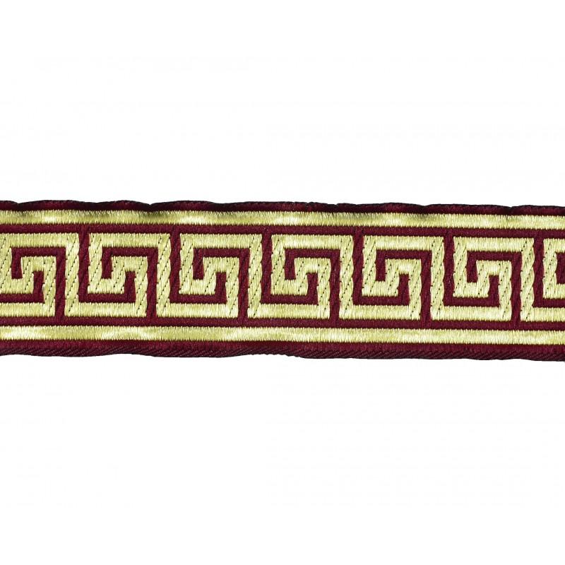 Tapacosturas greca ( 3cm)