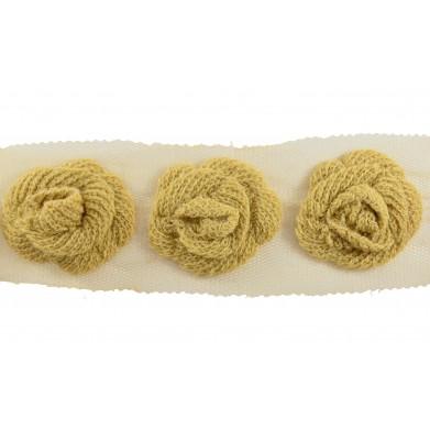 Flor lana camel