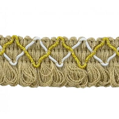 Fleco lana marrón 2,5 cm