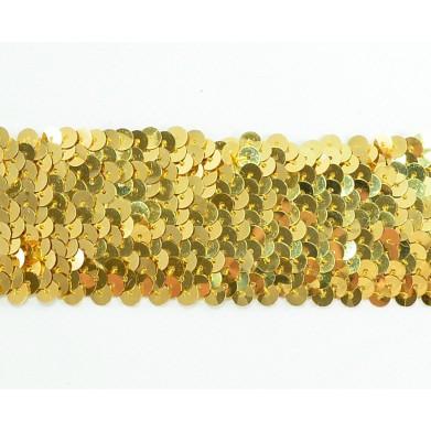 Cinta elástica dorada 5 cm