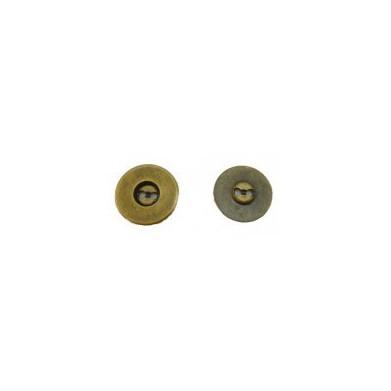 Imanes de coser Oro viejo 19mm