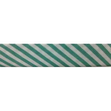 Bies rayas verde oscuro(18 mm)