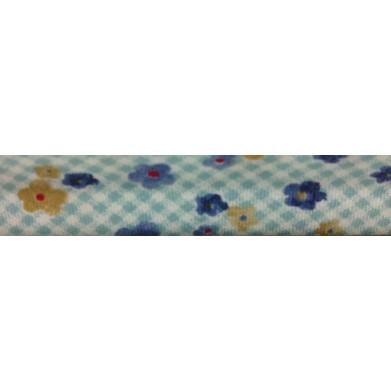 Bies flores azules (18 mm)