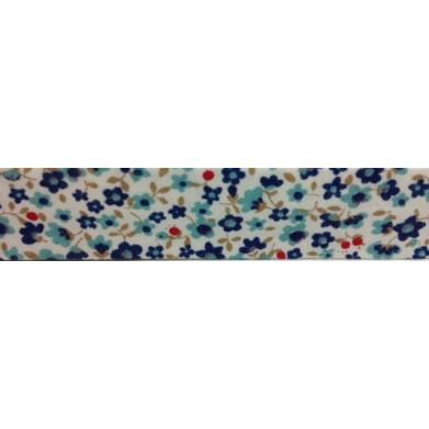 Bies flores azul(18 mm)