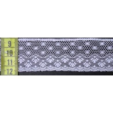 Puntilla valencie blanca 4 cm