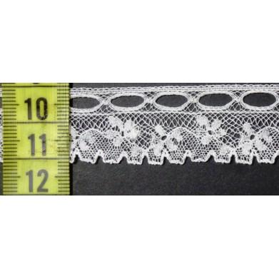 Puntilla valencie blanca 2 cm