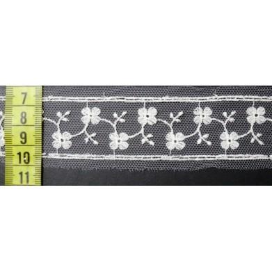 Guipur blanco 3 cm