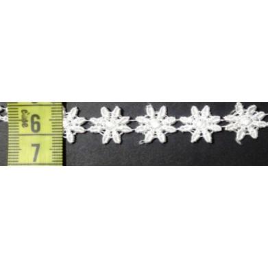 Guipur blanco 1 cm