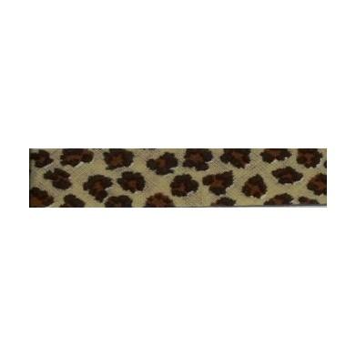 Bies animal print leopardo (18 mm)