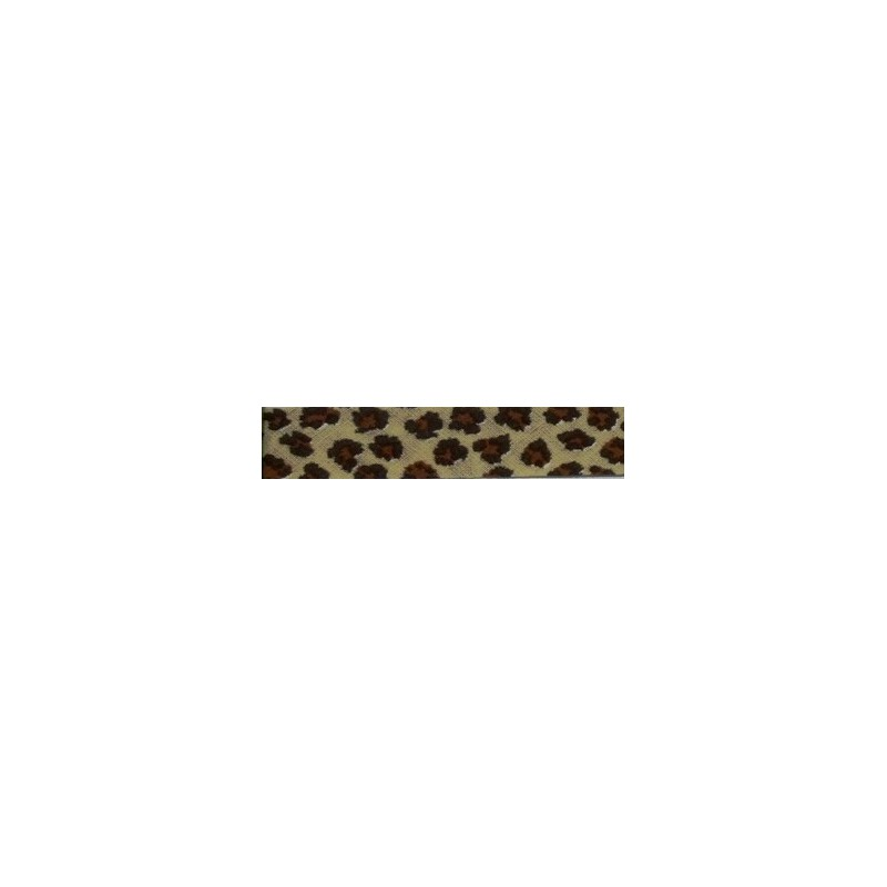 Bies animal print leopardo (18 mm)