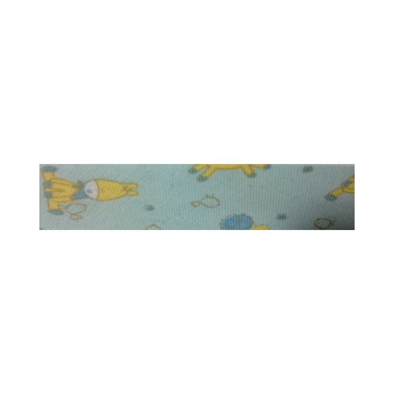 Bies - azul con burritos (18 mm)