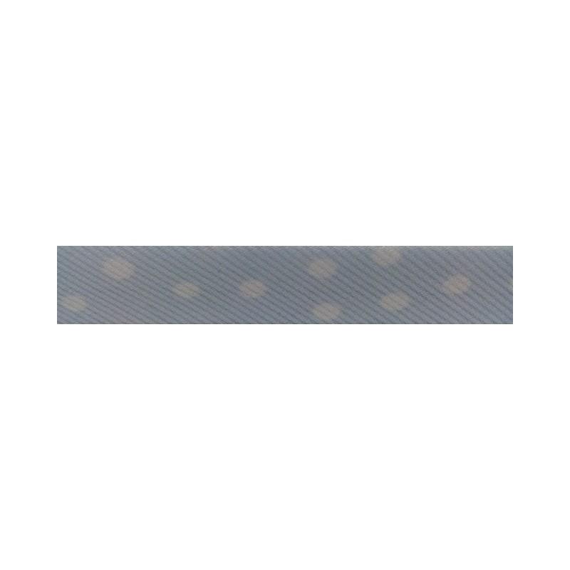Bies- celeste con lunares blancos (18 mm)
