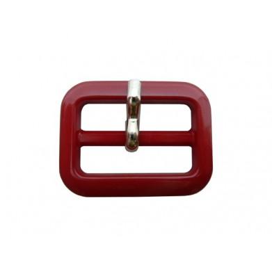 Hebilla rojo 2,5 cm