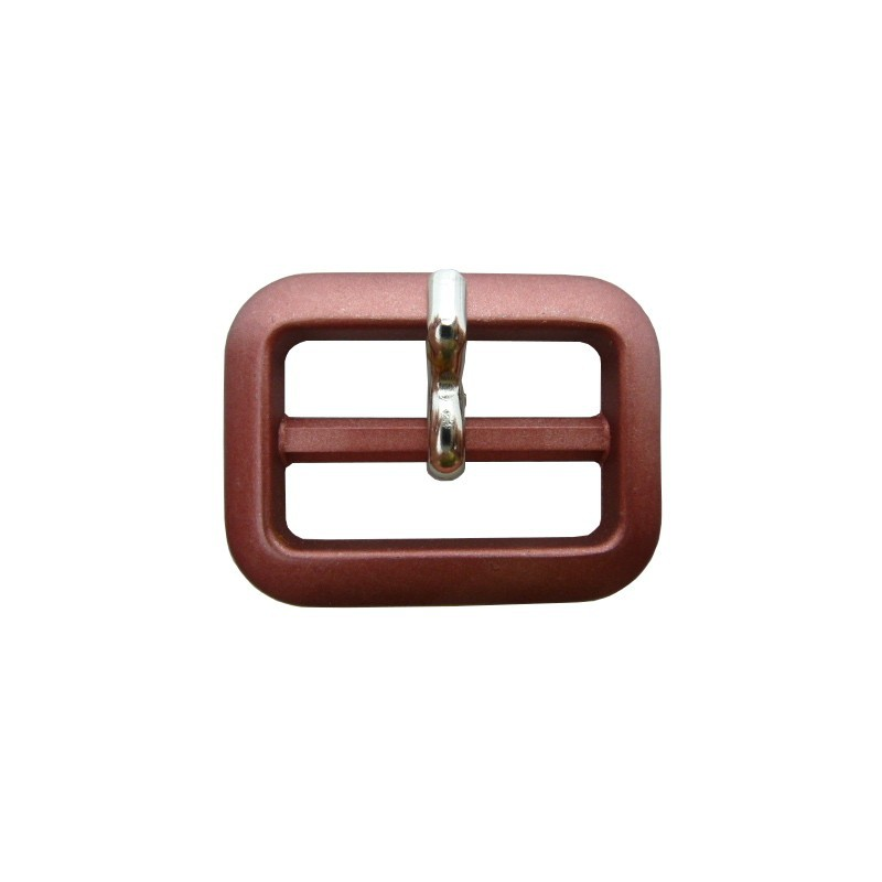 Hebilla rosa metalizado 2,5 cm