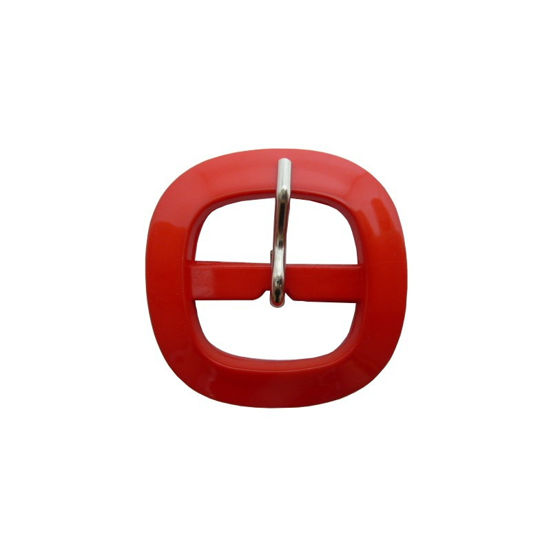 Hebilla rojo 3 cm