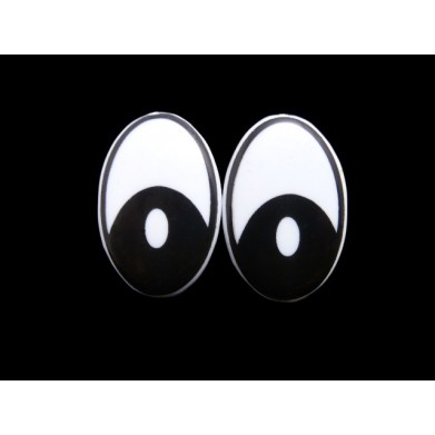 Ojos de seguridad 3 x 2 cm